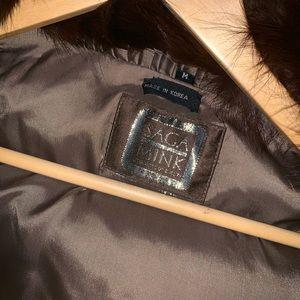 An original Saga Mink Fur Coat